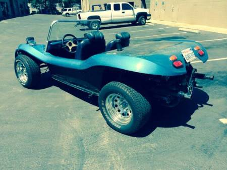1965 VW dune buggy left rear