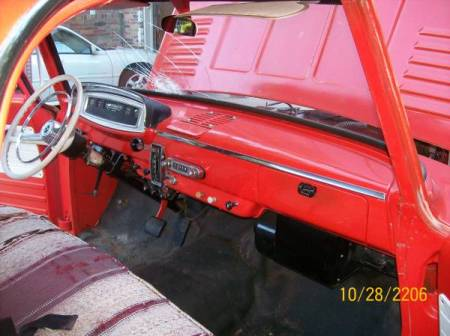 1966 Dodge D100 interior