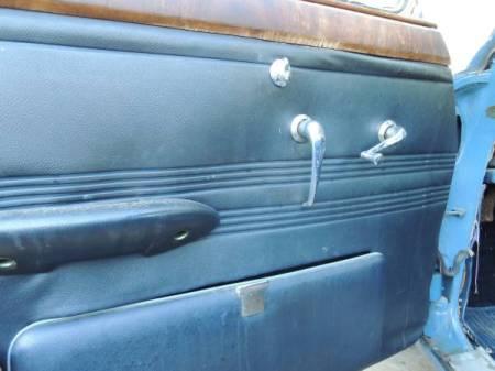 1966 Jaguar 3.8 S-Type door panel