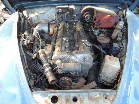 1966 Jaguar 3.8 S-Type engine