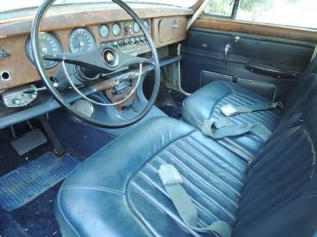 1966 Jaguar 3.8 S-Type interior