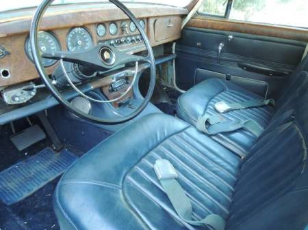 1966 Jaguar 3.8 S-Type interior