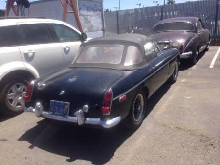 1969 MGB right rear