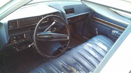 1972 Ford LTD Crown Victoria Country Squire interior
