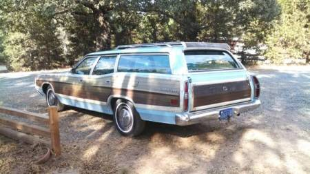 1972 Ford LTD Crown Victoria Country Squire left rear