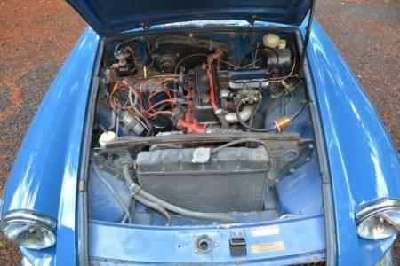 1972 MGB engine