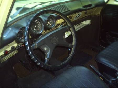1973 VW Type 3 Squareback interior