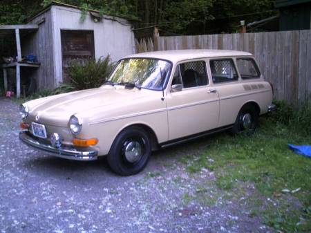 1973 VW Type 3 Squareback left front