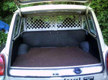 1973 VW Type 3 Squareback trunk