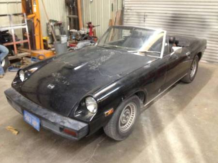 1974 Jensen Healey left front