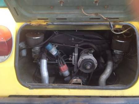 1974 VW Thing engine