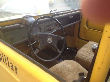 1974 VW Thing interior