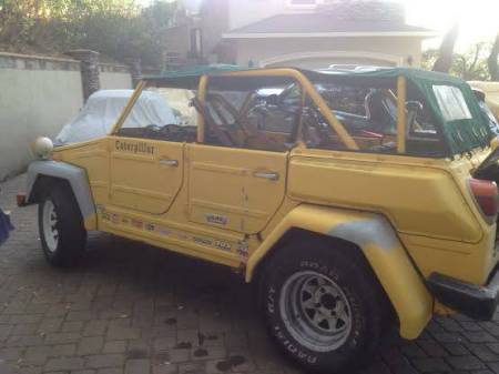 1974 VW Thing left rear