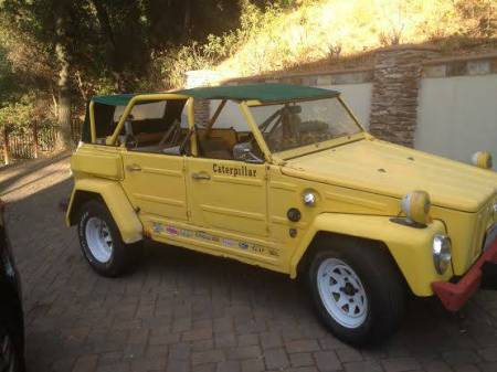 1974 VW Thing right front