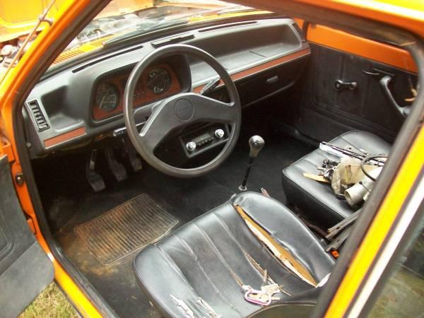 1978 Ford Fiesta Interior