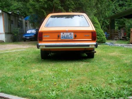 1978 Ford Fiesta rear