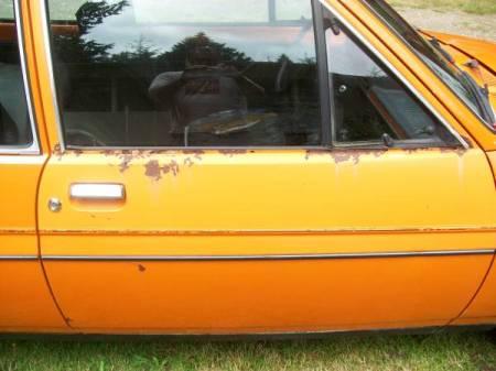1978 Ford Fiesta rust