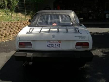 1979 Triumph TR7 rear