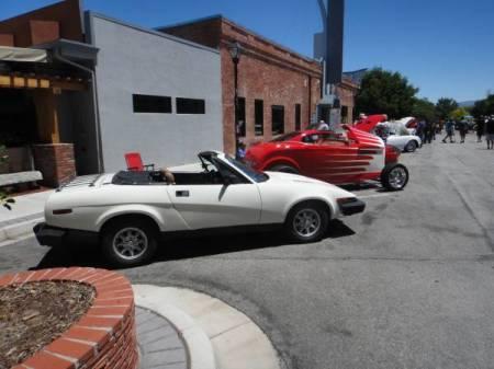 1979 Triumph TR7 right side