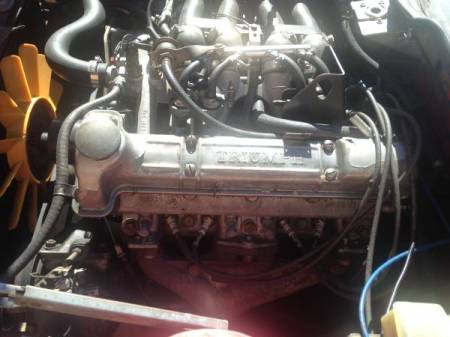 1981 Triumph TR7 engine