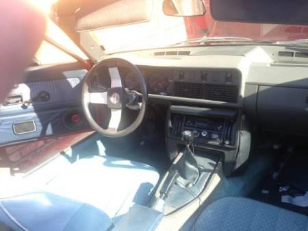 1981 Triumph TR7 interior