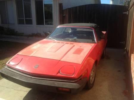 1981 Triumph TR7 left front