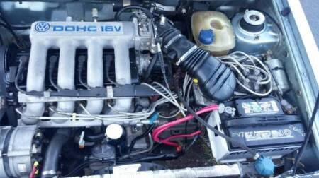1983 VW Jetta 16V engine