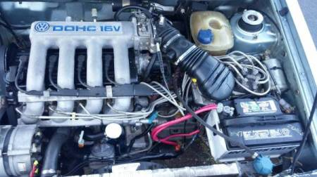 1983 VW Jetta 16V engine