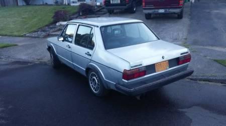 1983 VW Jetta 16V left rear
