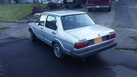 1983 VW Jetta 16V left rear