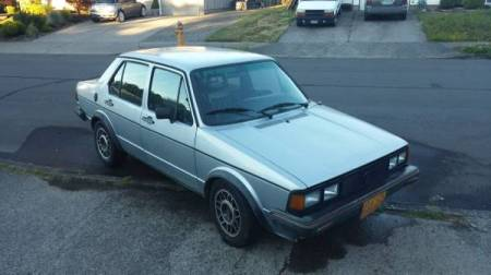 1983 VW Jetta 16V right front
