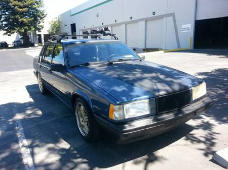 1991 Volvo 740 turbo right front