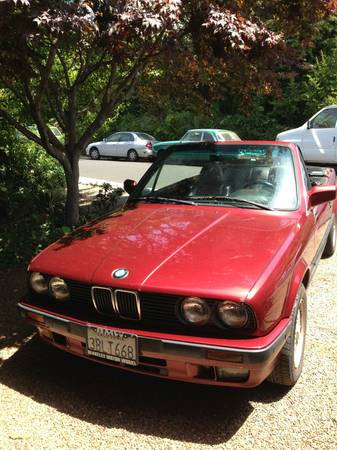 1992 BMW 325ic left front