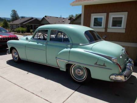 1950 Oldsmobile 88 left rear