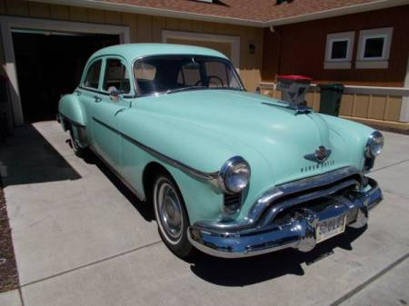 1950 Oldsmobile 88 right front