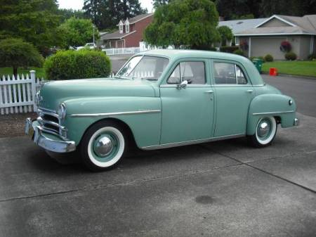 1950 Plymouth Special Deluxe left front
