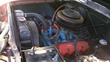 1955 Dodge Coronet engine