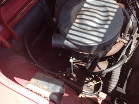 1963 Renault Caravelle engine