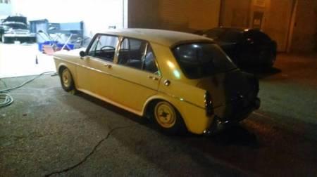 1967 MG 1100 left rear