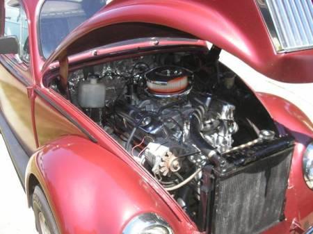 1967 VW Beetle engine