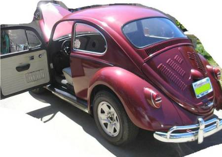 1967 VW Beetle left rear