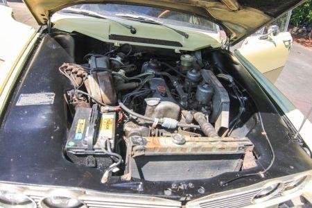 1968 Rover P6 2000TC engine