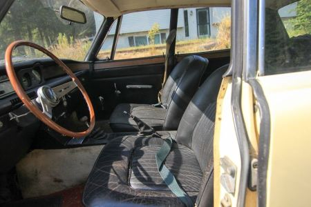 1968 Rover P6 2000TC interior