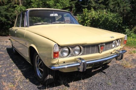 1968 Rover P6 2000TC right front