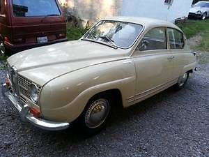 1968 Saab 96 Deluxe left front