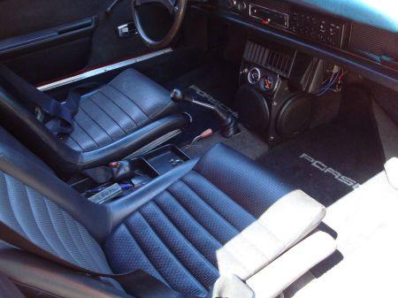 1970 Porsche 914 V8 interior