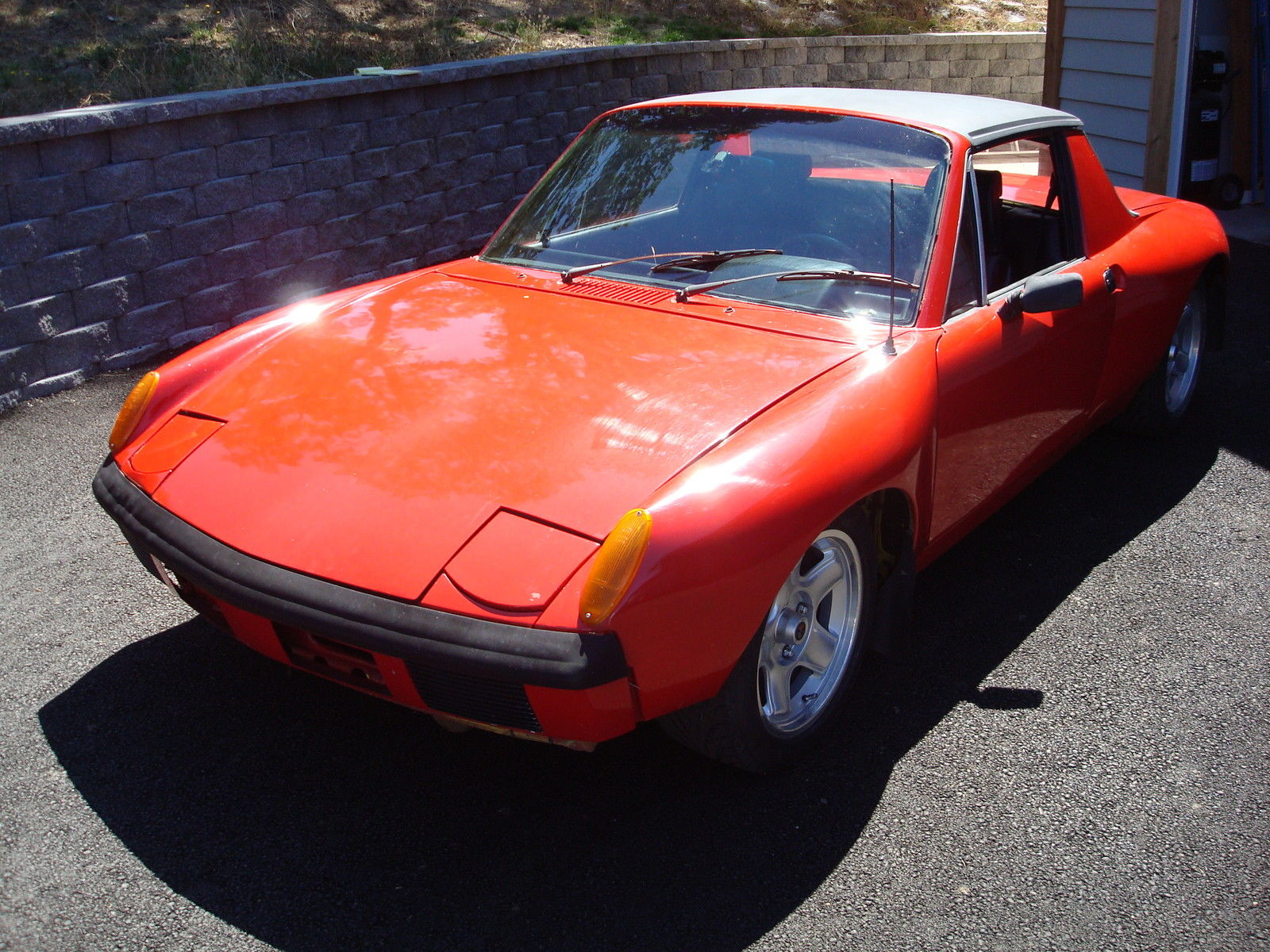Water Cooled 1970 Porsche 914 V8 Rusty But Trusty