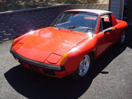 1970 Porsche 914 V8 left front