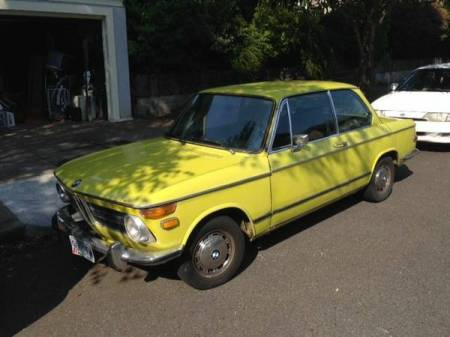 1971 BMW 2002 left front