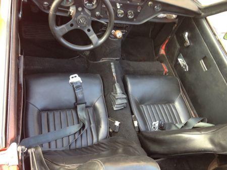 1972 Triumph Spitfire interior